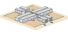 4 Container-Einheiten