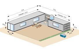 Eine Container-Einheit