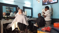 Friseur-Besuch